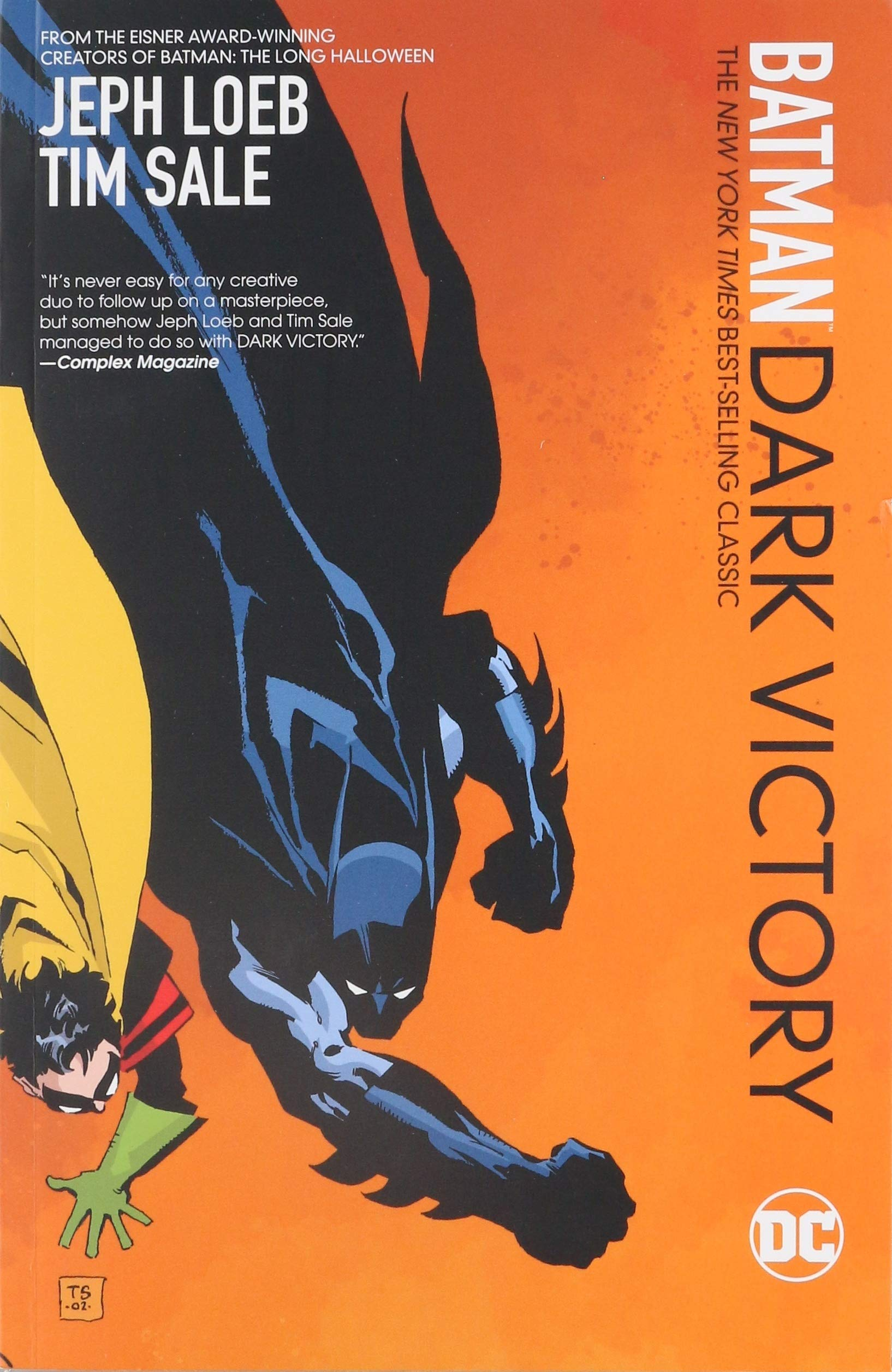Image result for Batman: Dark Victory, Paperback