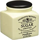 Charlotte Watson Country Collection in Cream Sugar Canister
