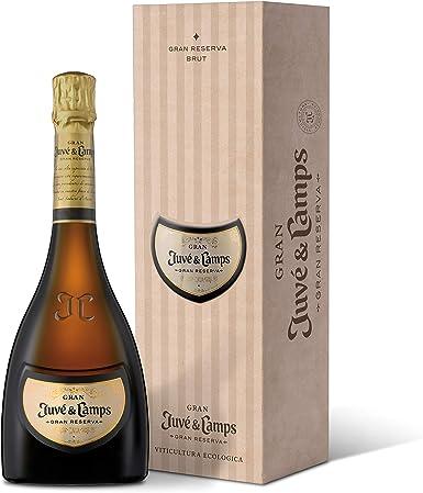 Juvé y Camps, Cava Gran Juvé Gran Reserva Brut, 1 botella de 75 cl, Macabeu, Xarel·lo, Parellada, Chardonnay (070010): Amazon.es: Alimentación y bebidas