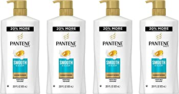 4-Pack Pantene 28.9 Fluid Ounce Pro-V Smooth and Sleek Conditioner