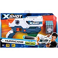 X Shot Hurricane Clip Blaster With 12 foam Darts (3693)