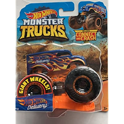 Hot Wheels 2020 Monster Trucks Giant Wheels Dairy Delivery 1:64: Kitchen & Dining