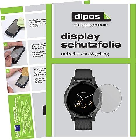 Dipos I 2x Schutzfolie Matt Kompatibel Mit Garmin Computer Zubehör