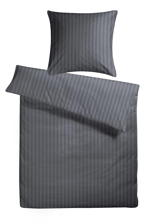 Carpe Sonno Elegante Elegante Elegante Mako-Satin Bettwäsche in exklusiver Hotelqualität 155 x 220 cm Weiß aus 100% Baumwolle für Besteen Schlafkomfort – Mako Satin Bettzeug Set mit Kopfkissenbezug B01H3F5K9A Bettwsche-Sets fe16fa