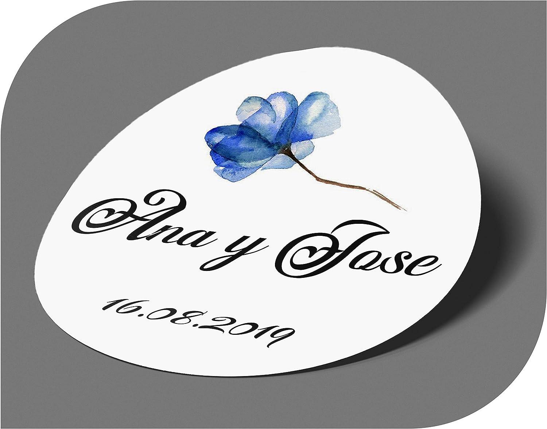 Mariage No/ël Anniversaire CrisPhy /Étiquettes adh/ésives personnalis/ées pour Invitation f/ête bapt/ême Vintage fian/çailles
