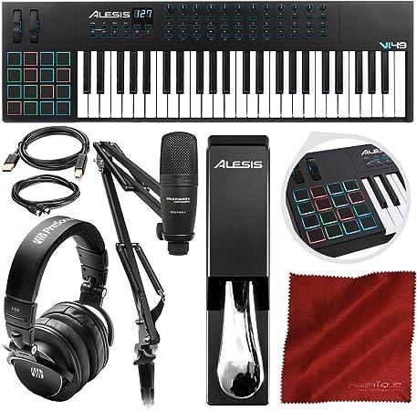 Alesis VI49 49 teclado MIDI de 49 teclas y controlador de ...