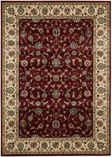 Nourison Persian Arts Brick Rectangle Area Rug, 2-Feet by 3-Feet 6-Inches 2 x 3 6