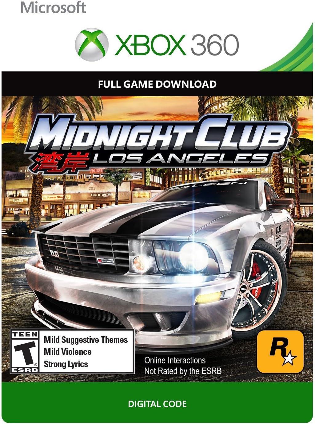 Amazoncom Midnight Club Los Angeles Platinum Hits Xbox - Midnight club los angeles map expansion