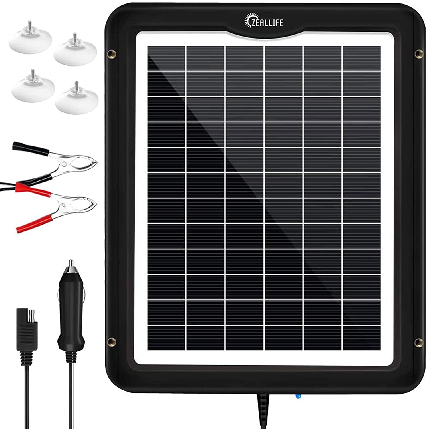 Solar Battery Charger By ZEALLIFE