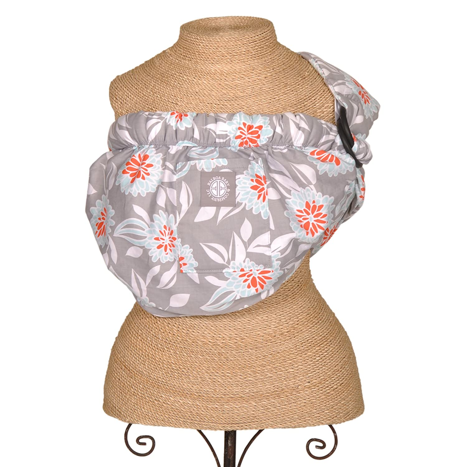 Balboa Baby Adjustable Sling Dahlia, Grey 70231