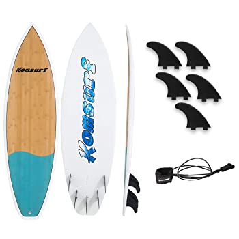 Komsurf Fiberglass Surfboard