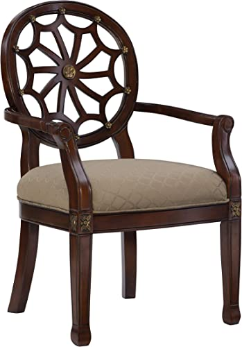 Powell 235-620 Spider Web Back Accent Chair
