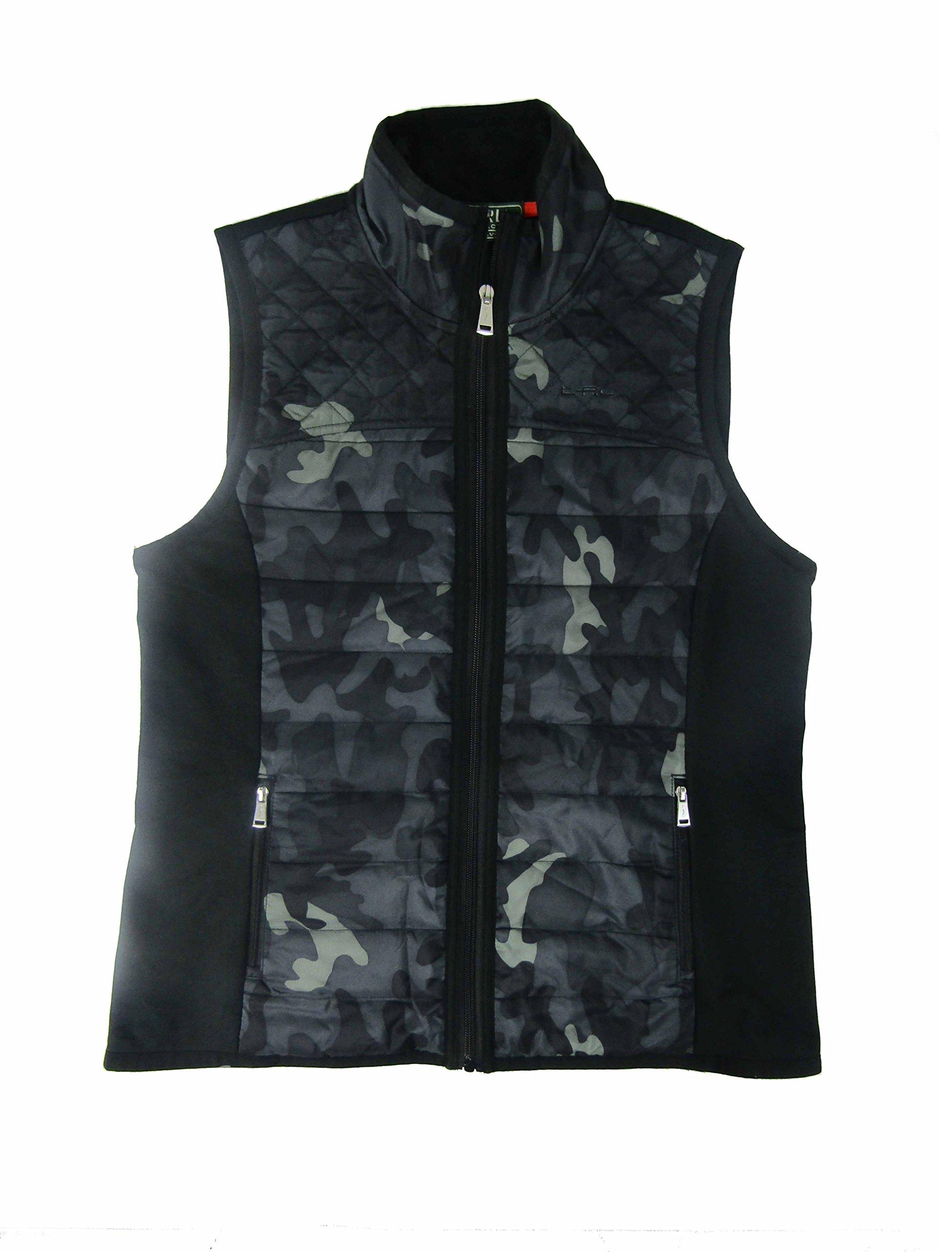 Lauren Ralph Lauren Active Women's Camo Quilted Vest (Medium, Multi) by Lauren by Ralph Lauren