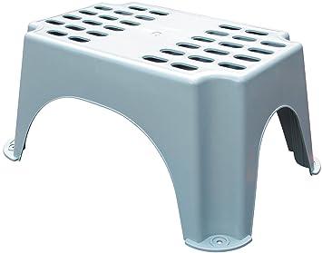 Olpro sgabello in plastica per roulotte colore: grigio: amazon.it