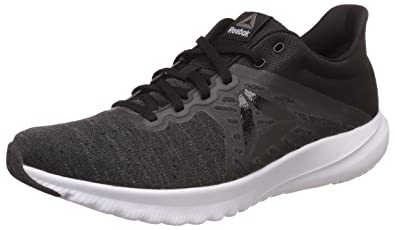 8f81b6187 Reebok Men s OSR Distance 3.0 Blk Grey White Running Shoes - 10 UK