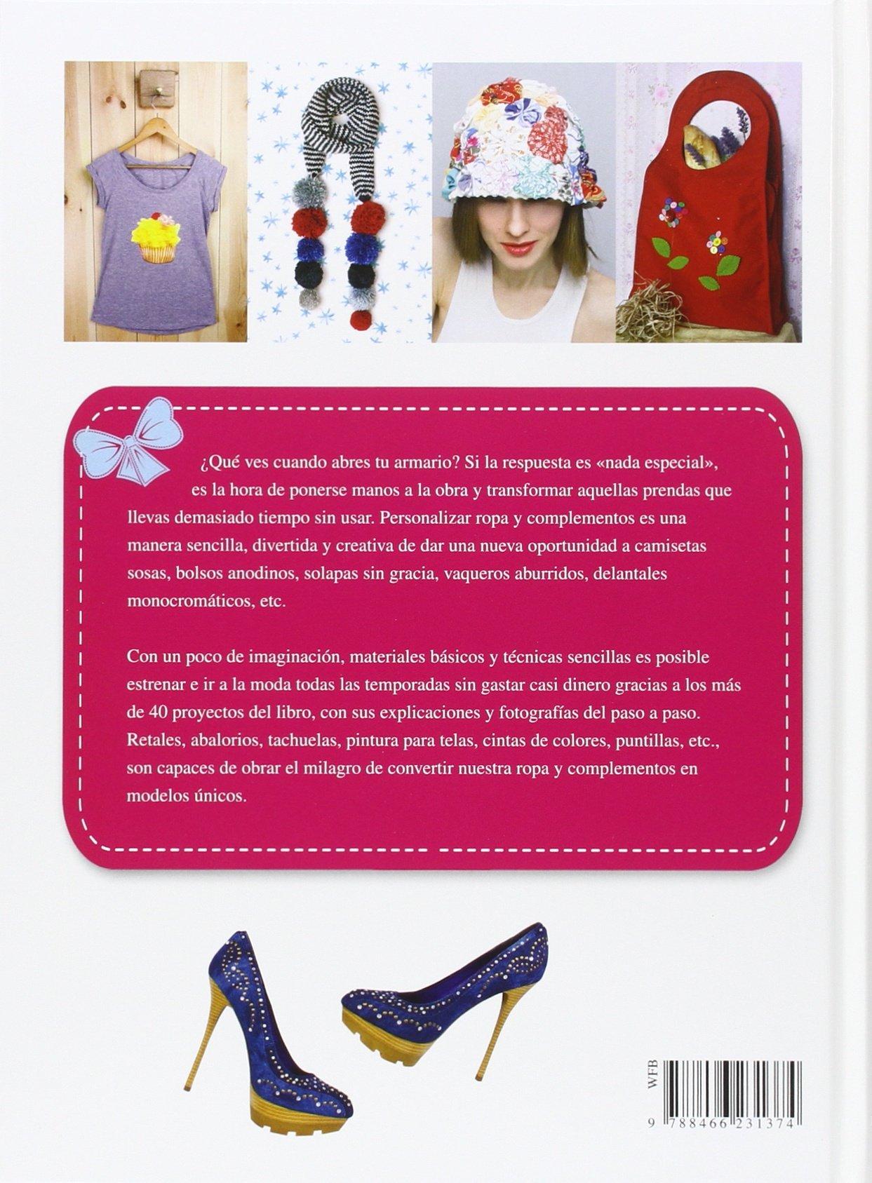 Personaliza tu ropa y tus complementos (Spanish Edition): María Jesús Saiz, Libsa: 9788466231374: Amazon.com: Books