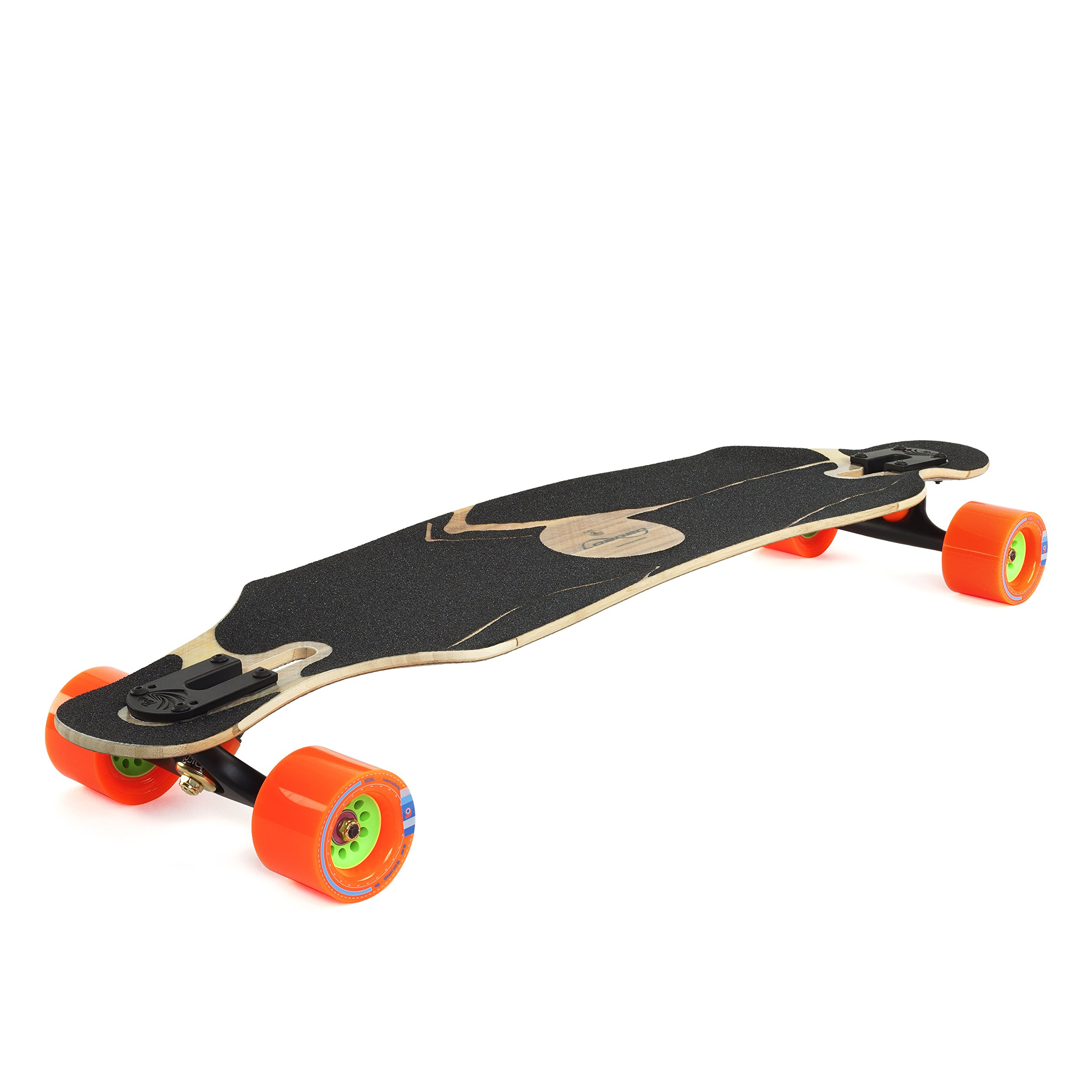 Loaded Boards Icarus Bamboo Longboard Skateboard Complete W 80mm