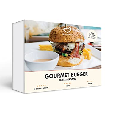 Gourmet Burgers for Two New York Experience Gift Card NYC - GO DREAM - Sent in a Gift Package