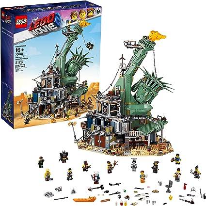 LEGO LARRY THE BARISTA Minifig from SET #70840 The LEGO Movie 2 Apocalypseburg