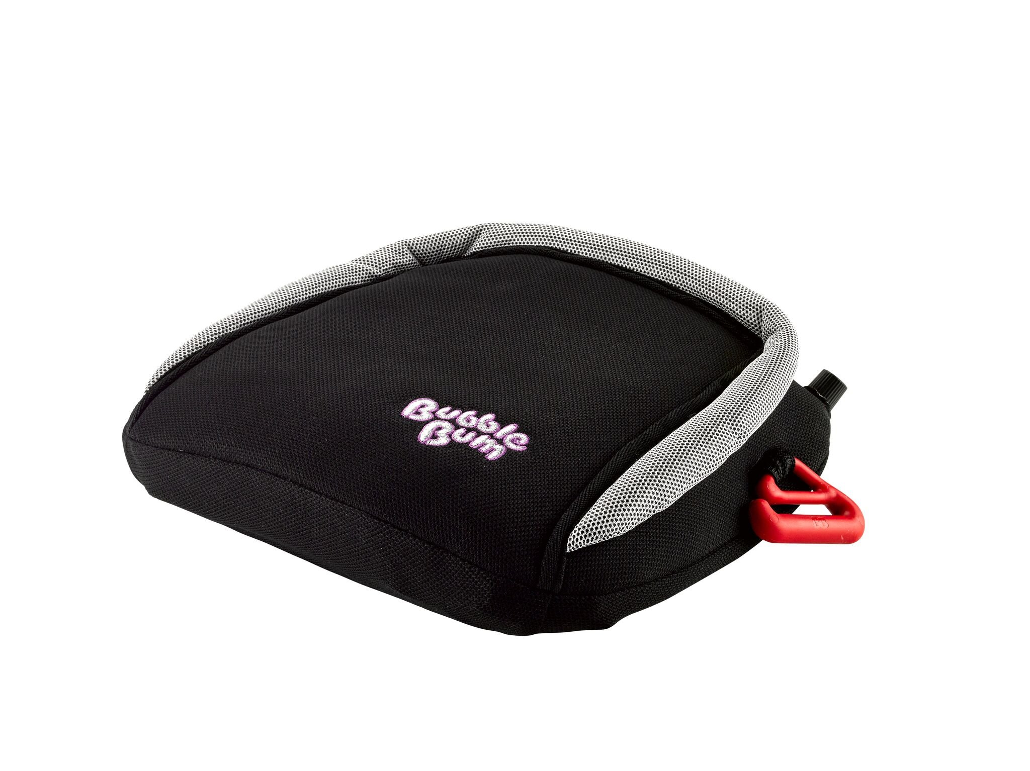 BubbleBum Backless Inflatable Booster Car Seat, Black