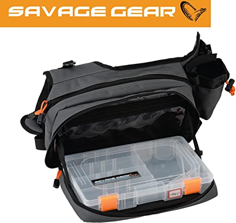 Savage Gear Sling Shoulder Bag (20 x 31 x 15 cm) para pesca ...