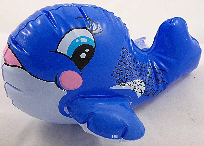 INTEX Wasserspieltiere Kleine Badetiere Puff`n Play aufblasbare Tiere Kinder Kinderbadespaß