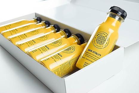 BEAUTY&GO SKIN VITALITY 7x250 ml - Bebidas Cosméticas con Peptidos de Colágeno, Macro-Antioxidantes y Ácido Hialurónico que ayuda a proteger tu piel.