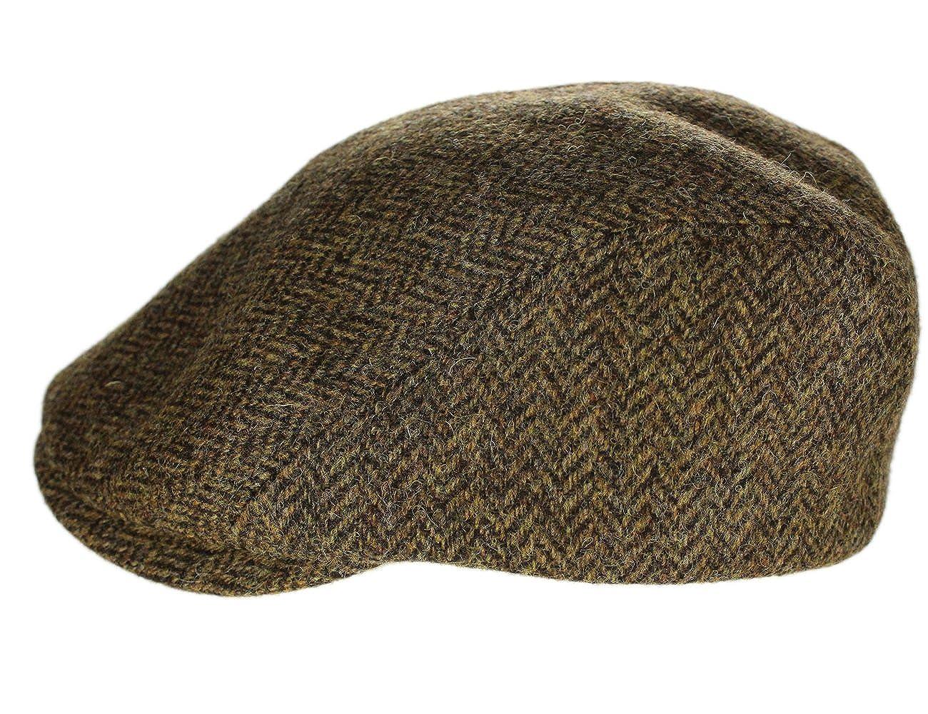 Biddy Murphy Irish Gifts Irish Touring Cap Extended Brim Irish Tweed Formfitting Cap Handcrafted In Ireland John Hanly & Co.