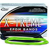 "Alliance Rubber 02005 EPDM Non-Latex Rubber X-treme File Bands, 175 Pack (7"" x 1/8"", Lime Green)"