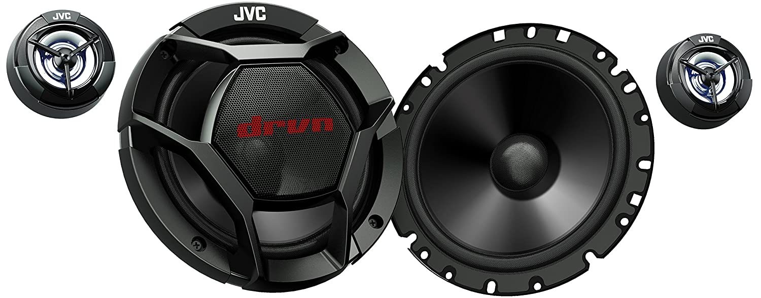 JVC CS-DR1700C 360W Peak (55W RMS) 6.75a 2-Way Factory Upgrade Component Speakers (Does Not Include Crossovers) - Pair by JVC   B01BQ7A4TM