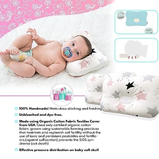 Amazon.com: Little Baby Boo orgánico cabeza dar forma recién ...