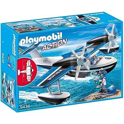 PLAYMOBIL Police Seaplane: Toys & Games