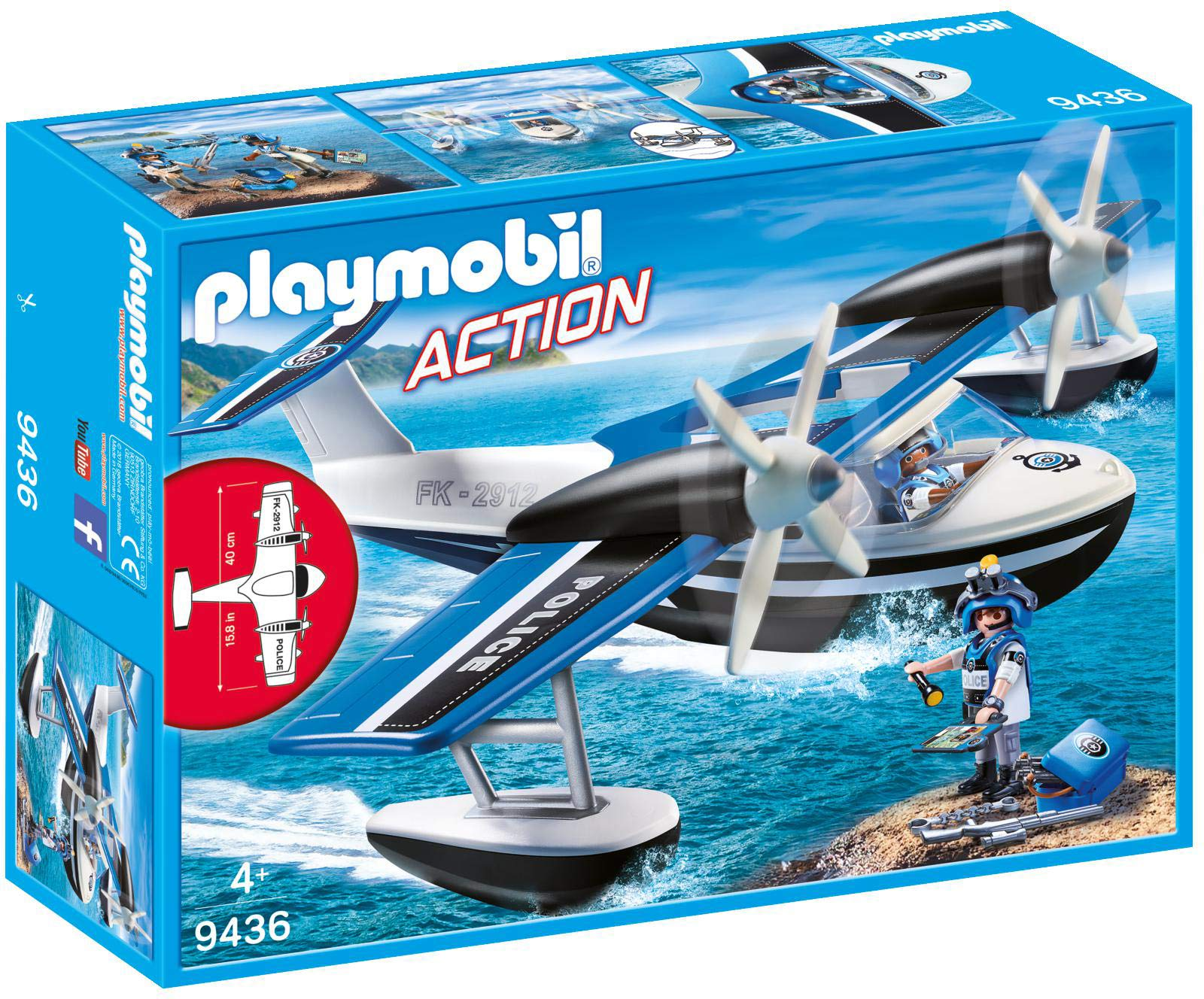 PLAYMOBIL® Police Seaplane