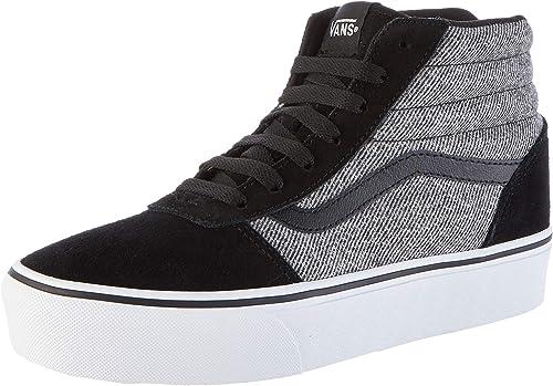 Vans Damen Ward Hi Platform Hohe Sneaker, schwarz