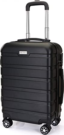 Amazon.com | 20-Inch ABS Lightweight Carry On Spinner Luggage ...