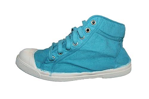 Turquoise Amazon Bensimon Femme B11ben051 Basket Montantes HOAv4H1