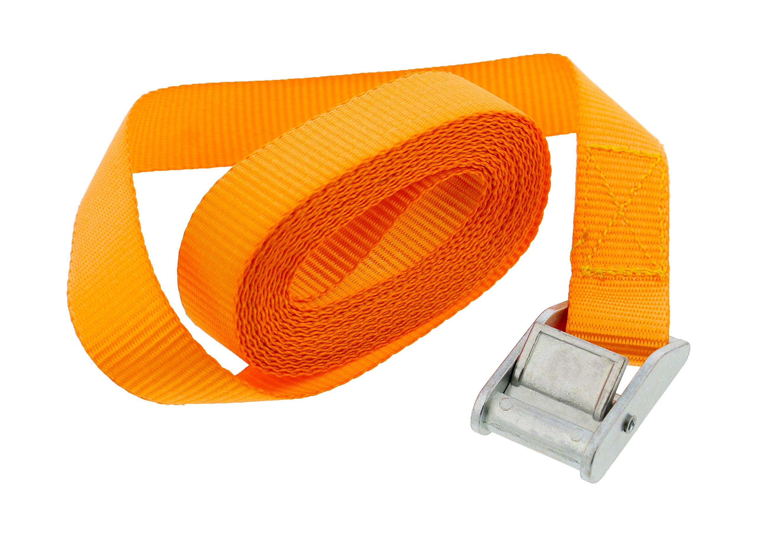 ABN Lashing Straps with Carry Bag 1'' Inch x 12'' Foot 10-Pack by ABN (Image #2)