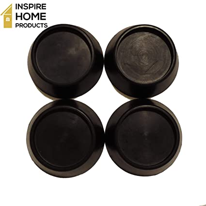 4 x UNIVERSAL Dishwasher Rubber Feet Anti Vibration Non Slip Absorber Pads