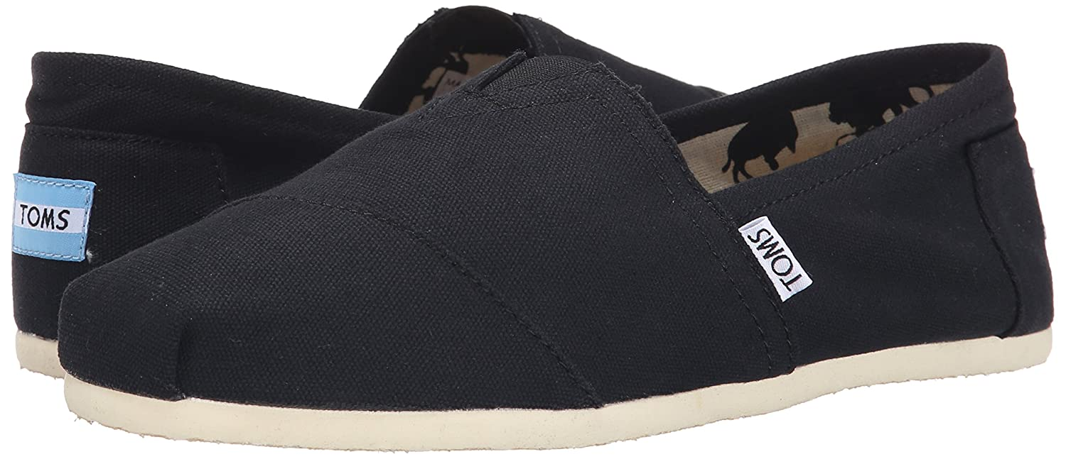 cff64c2d3a Amazon.com | TOMS Men's Classic Canvas Slip-On, Black - 10.5 D(M) US |  Loafers & Slip-Ons