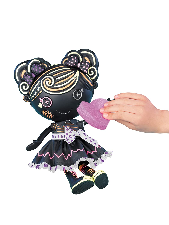 lalaloopsy color me trace e doodles doll amazon co uk toys u0026 games