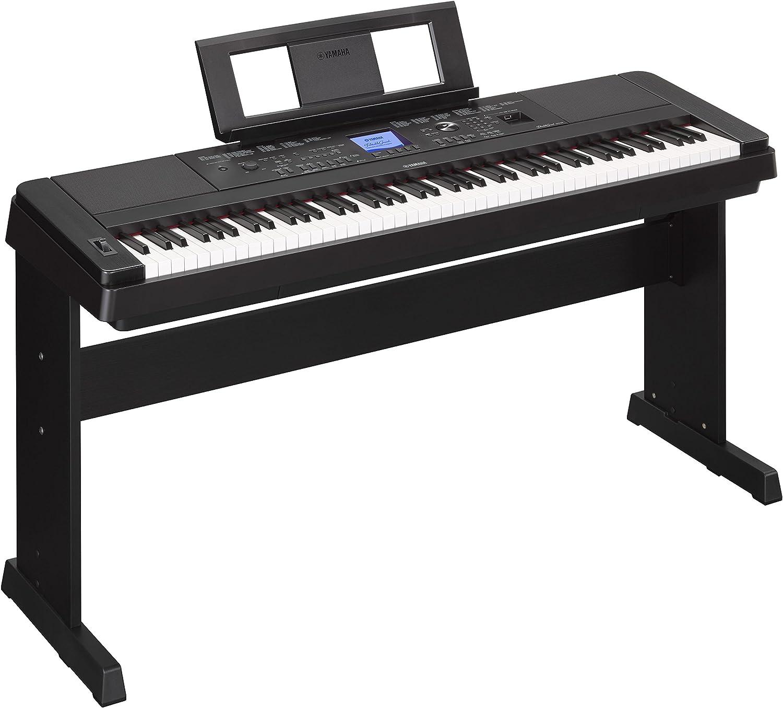 Yamaha - Piano digital dgx-660b de 88 teclas: Amazon.es ...