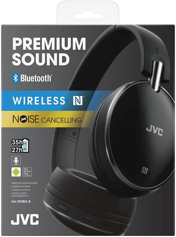 Jvc S90bt Over Ear Bluetooth Noise Cancelling Amazoncouk Electronics
