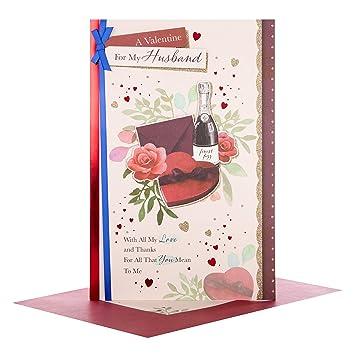 Hallmark Husband Valentines Day Card Love And Thanks Large