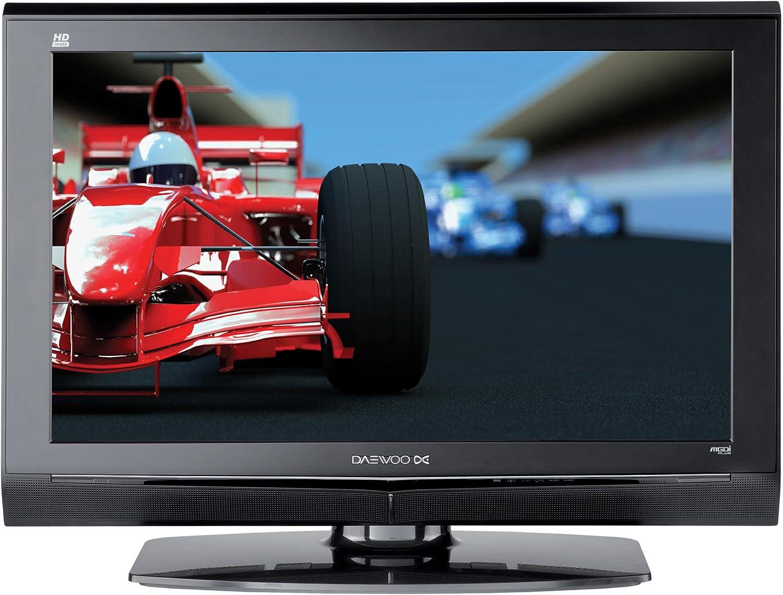 Daewoo DLT32G1 - Televisor LCD (HD, Analógico y Digital, Negro, 16 ...