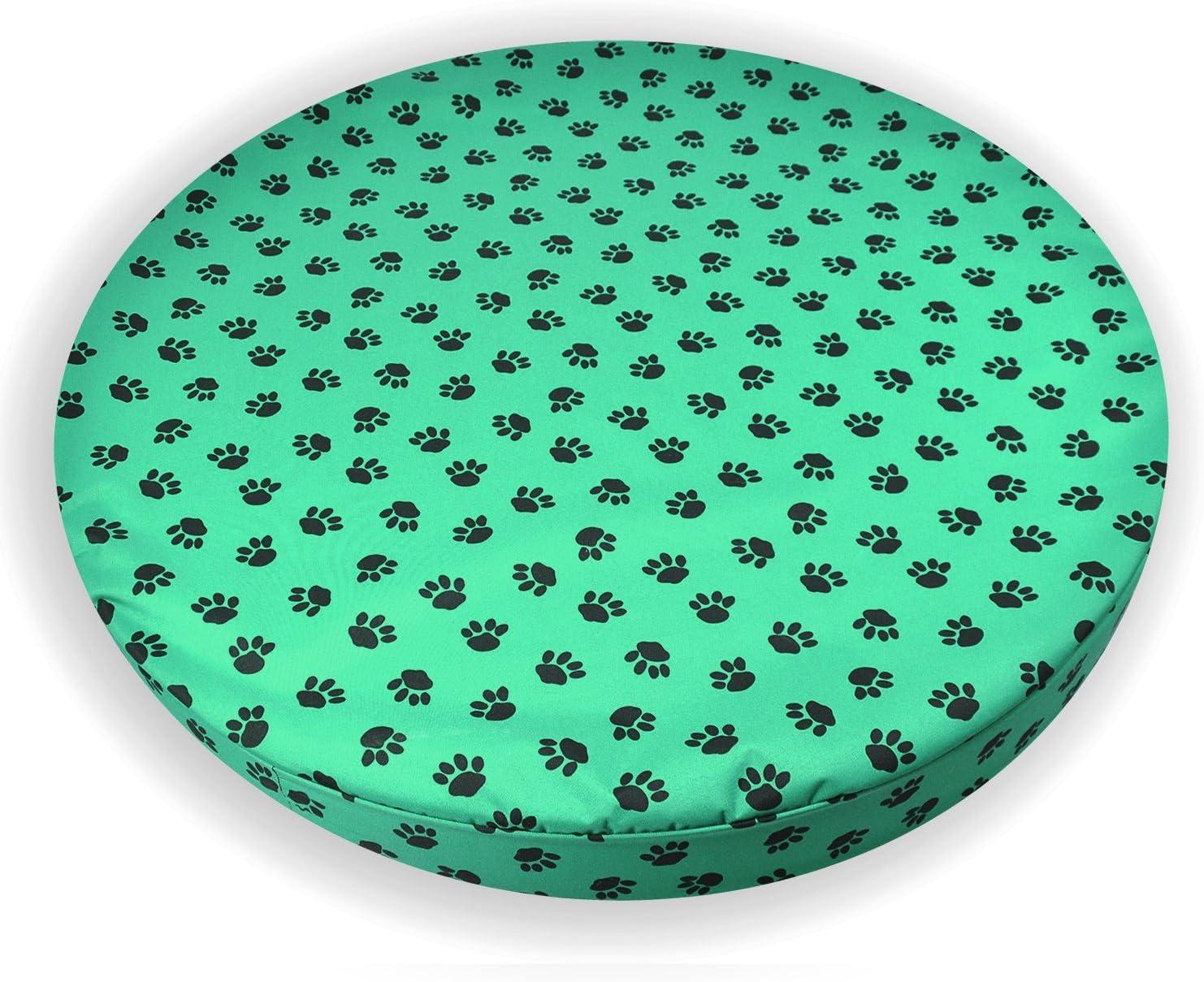 Paws - Pet Beds Direct Verde Patas–ortopédica de Espuma con Efecto Memoria para Perro Impermeable Cama