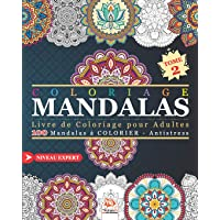 Coloriage Mandalas: Livre de Coloriage pour Adultes - 100 Mandalas à COLORIER - Antistress - Niveau Expert - Tome 2