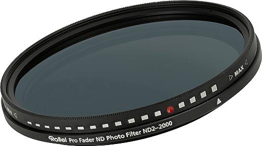 3 opinioni per Rollei Pro Fader ND Photo Filter Filtro a Densità Neutra ND2-2000 55 mm, Nero