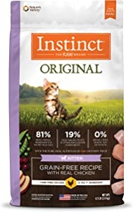 Instinct Original Kitten Grain Free Recipe Natural Cat Food