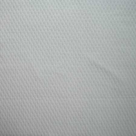 Matelasse Diamond White 90u0026quot; Round Tablecloth Cotton