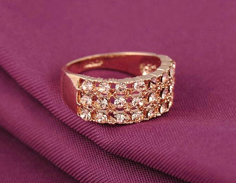 Amazon.com: Gnzoe Jewelry White Rings Women Engagement Rings ...